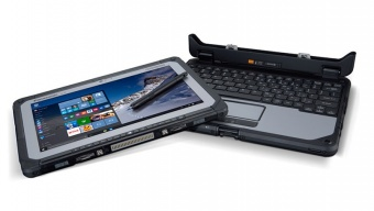 "Panasonic Toughbook CF-20 MK1, M5-6Y57, 8Gb, SSD 256Gb, 10"" IPS, 1920*1200, Touchscreen"